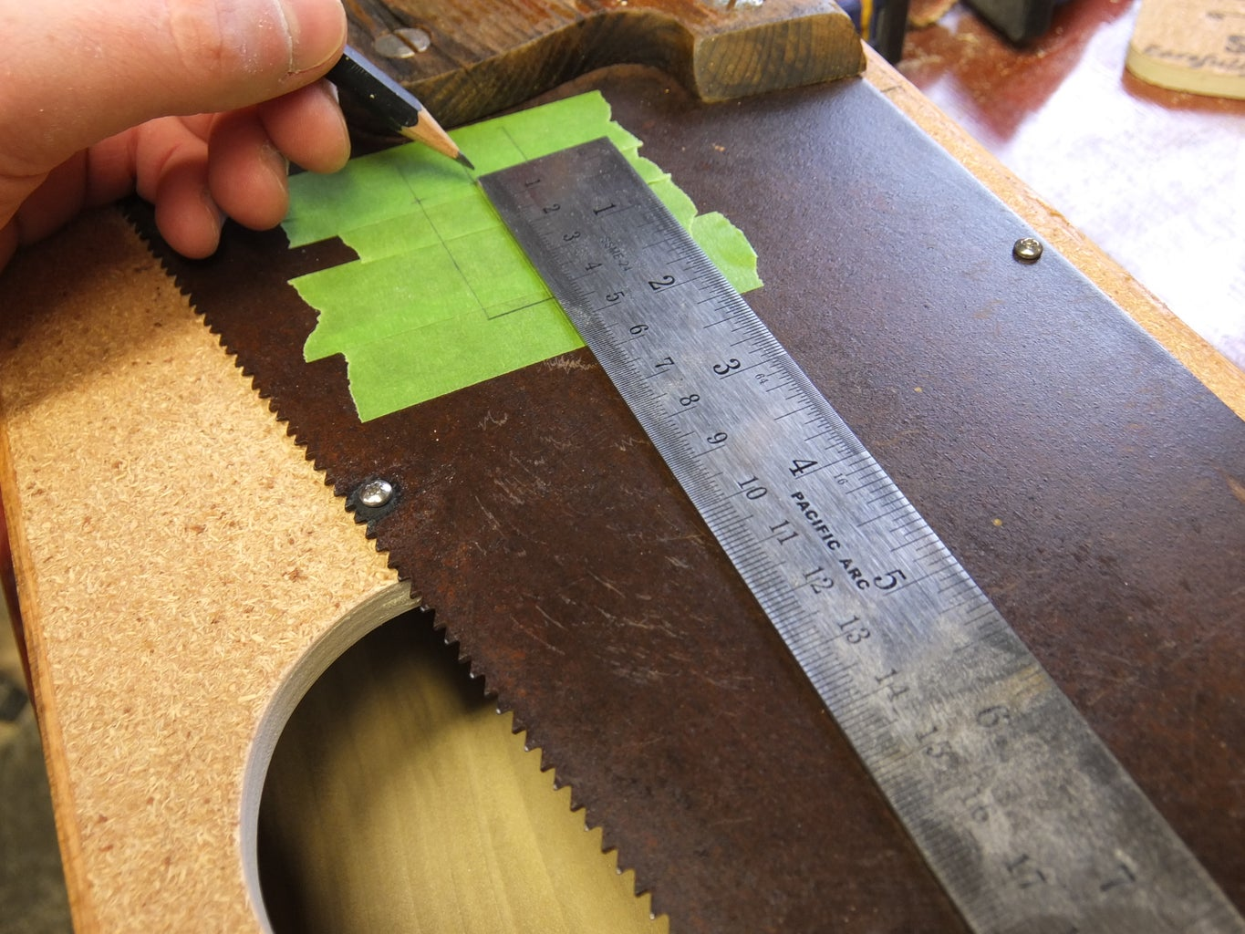 Drill the String Holes