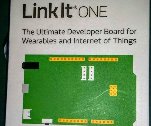 LinkIt One Tutorials - #4 WiFi Web Server