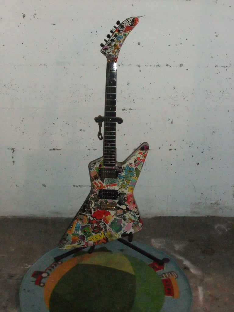 Re-assemble Guitar