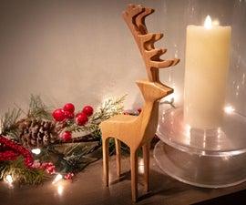 A Modern Bandsaw Reindeer