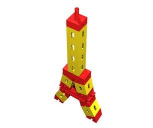 How to Construct a Fischertechnik Eiffel Tower