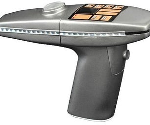 Star Trek II ( the Wrath of Khan ) Phaser Modifictaion