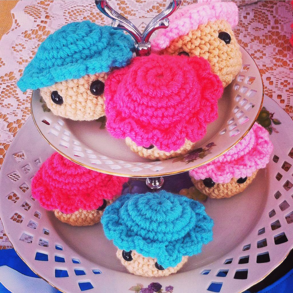 Crochet Cupcakes!!