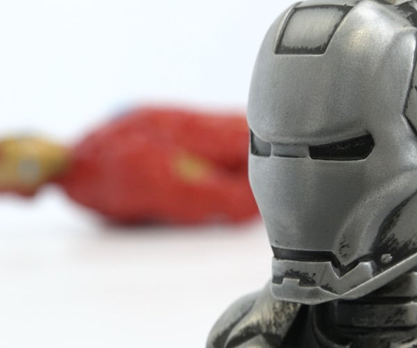 Iron Man! How I Made My Own Metallic Piece