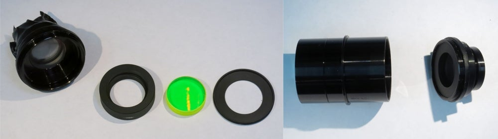Removing the Color Filters and Second Relay Lens Reassembly
