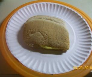 Simple Microwave Egg Sandwich