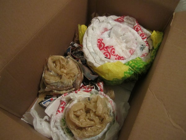 Using Plastic Grocery Bags to Pack Fragiles