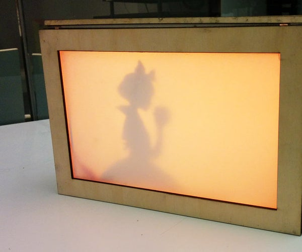 Story Box -  an Interactive Light Box for Telling Stories