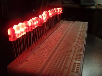 LED Burn in Testing