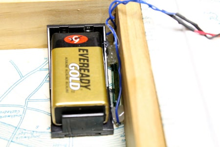 Wiring the Battery, Reed Switch and Lock