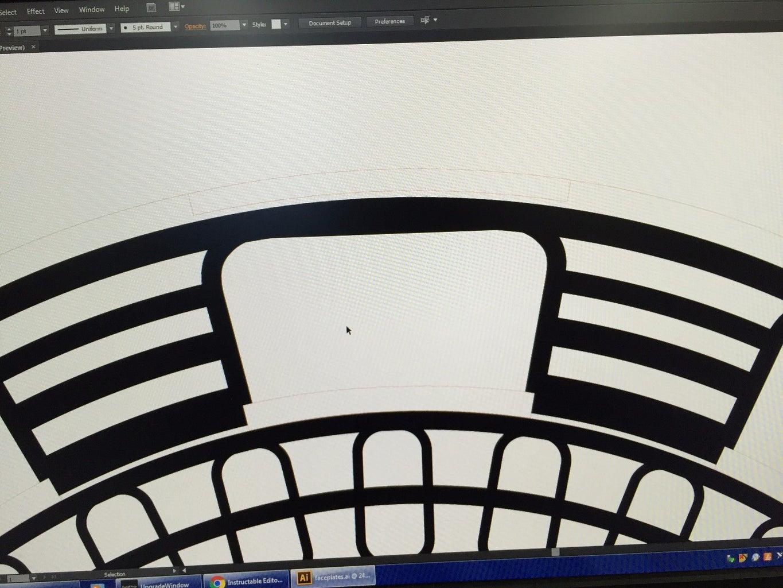 Designing the Faceplates