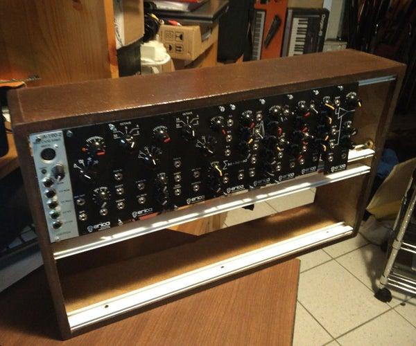 Cheap DIY Modular Synth Case