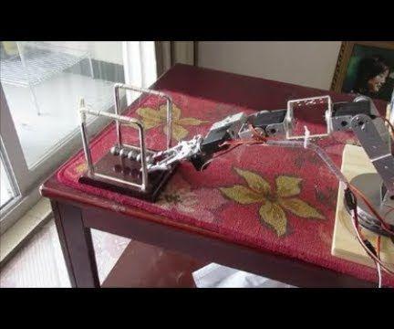 Using Arduino Uno for XYZ Positioning of 6 DOF Robotic Arm