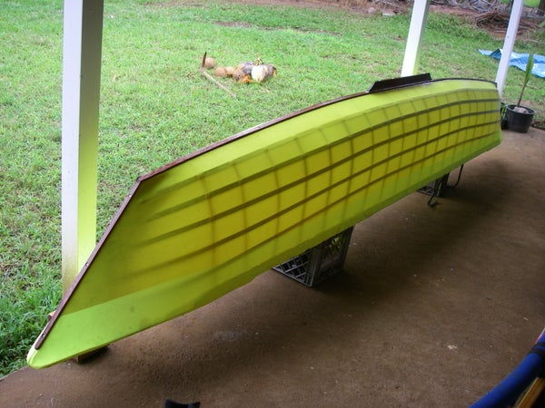 Sailing Canoe Chapter 8: Keel and Rub Strips