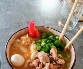 Creamy Ramen - Customizable for Children and Adults
