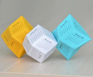 Choose Your 3D Calendar for 2021