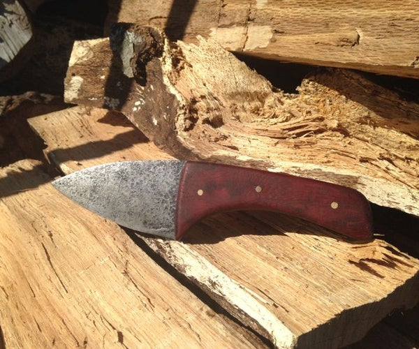 My Hand Made Kitchen Knife