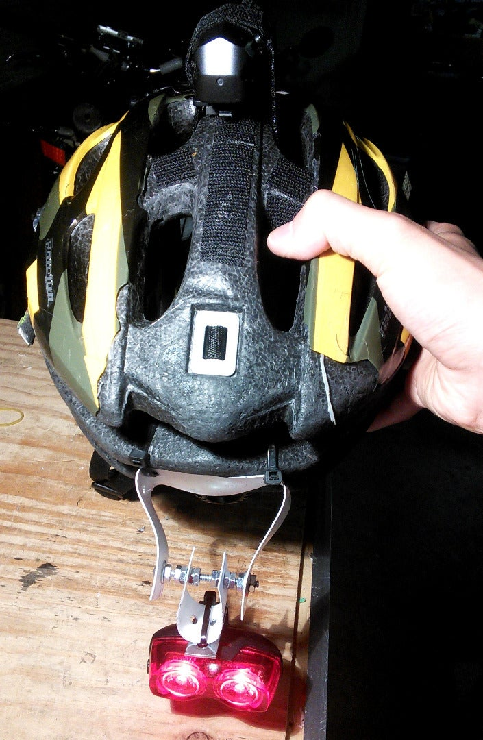 DIY Self-Leveling Bike Light Mount
