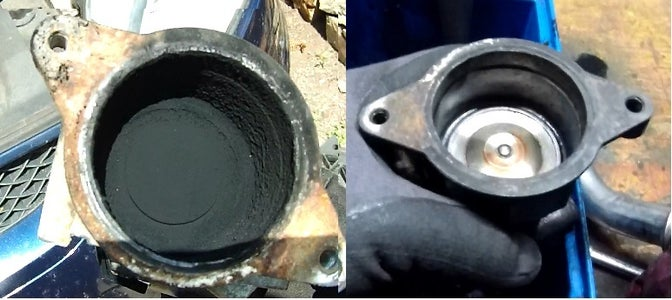 Ford S-Max, Mondeo MK4, Galaxy 2007 2.0 TDCi 103KW - EGR Valve Cleaning / Replacement