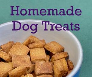 Easy 5 Minute Peanut Butter Dog Treat Recipe