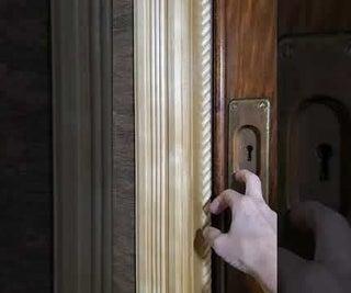 Magnetic Door Closure for Pocket Door