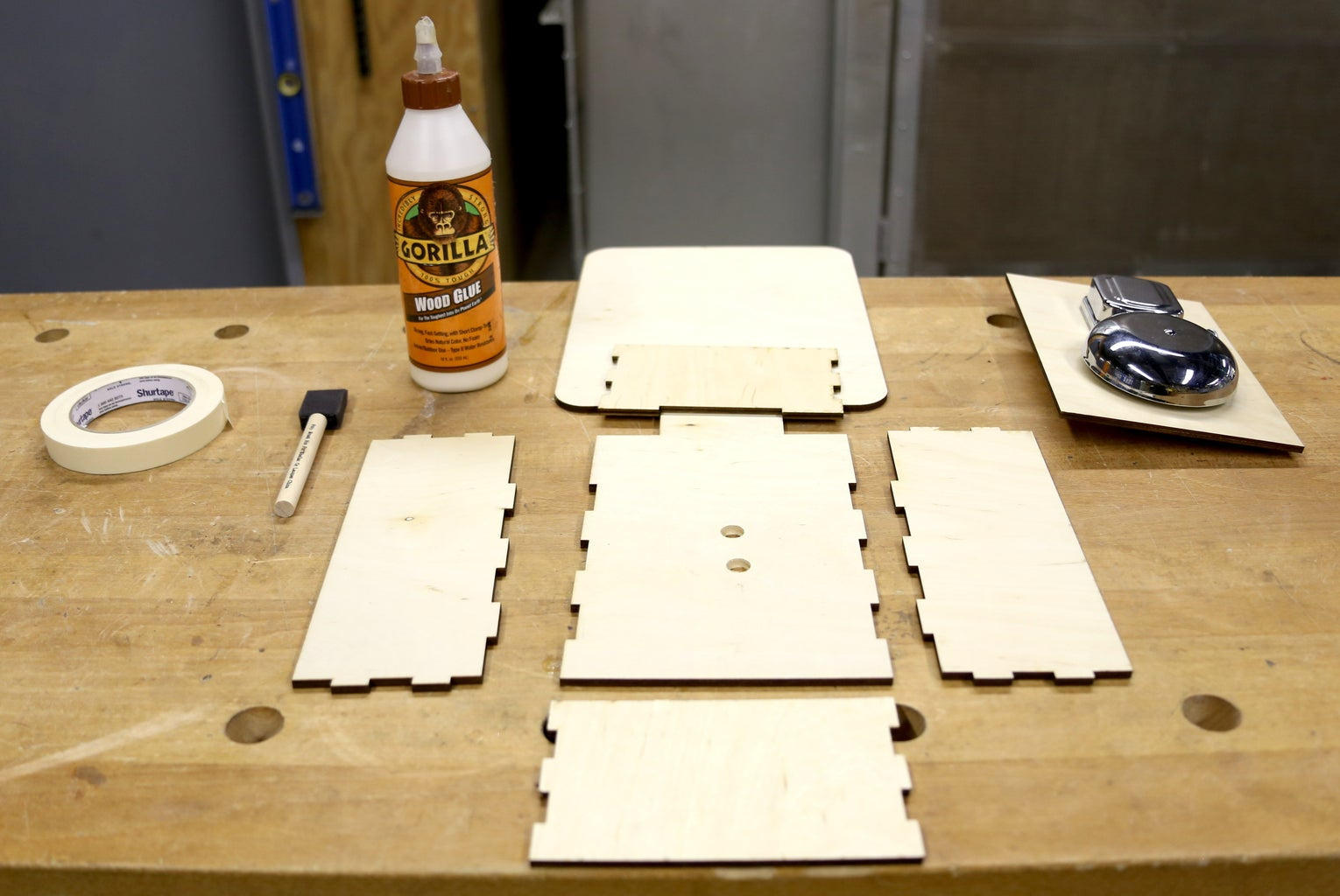 Gluing the Case