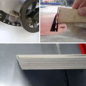 Cut and Angle Seat