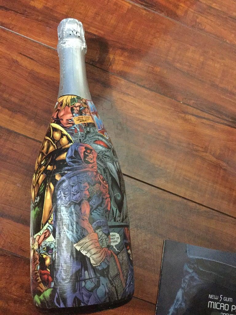 He-Man Champagne Bottle