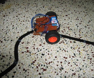 Home Made Line Tracer Robot