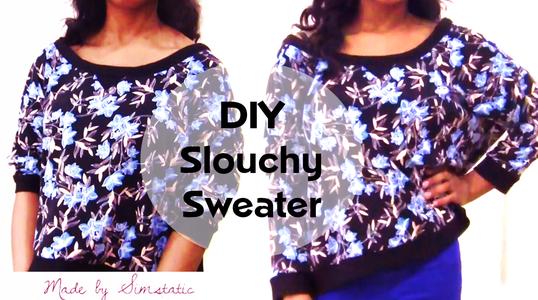DIY Oversized (Slouchy Winter Jumper) - Video
