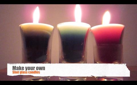 Shot Glass Candles