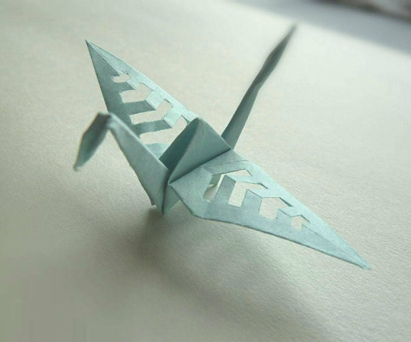 Kirigami Crane