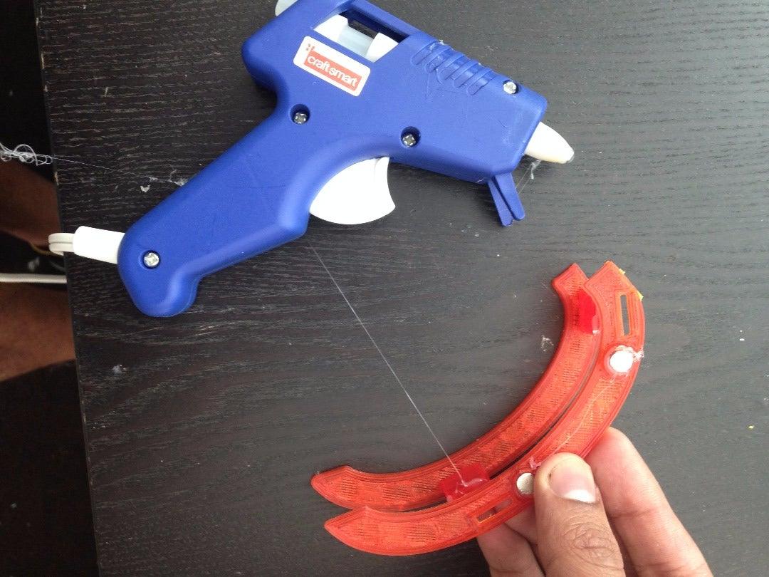 Baic Run: Hot Glue the Magnets