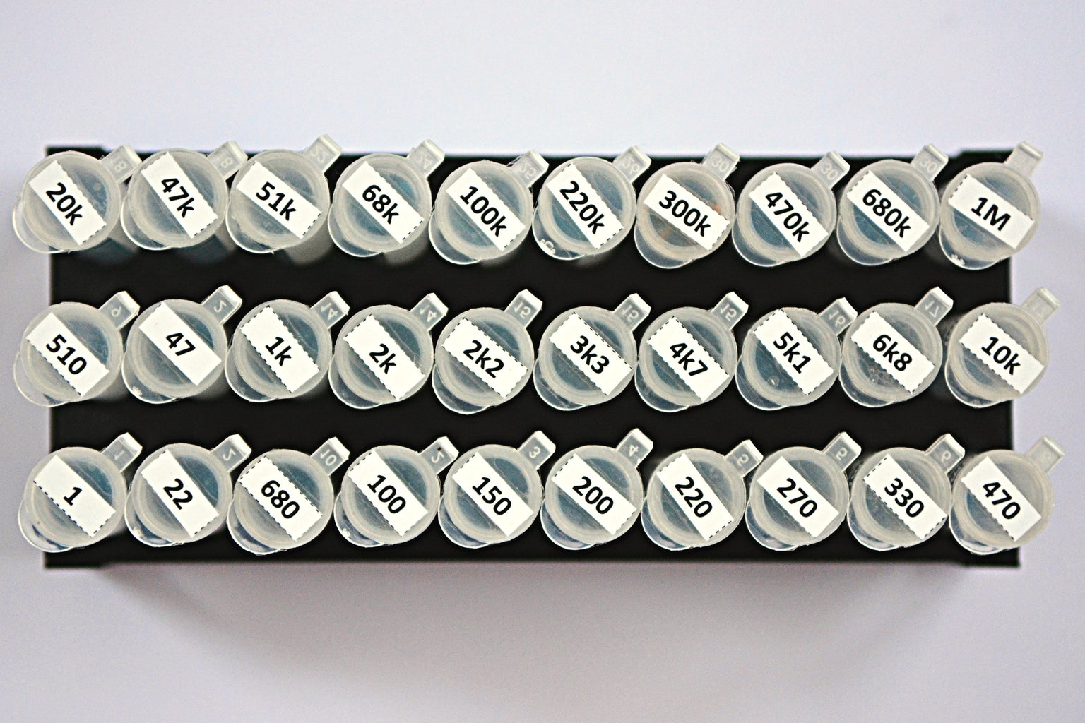 Resistor Organizer