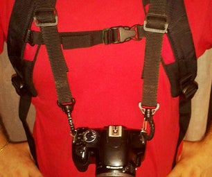CHEST HARNESS CAMERA MOUNT FOR BACKPACK