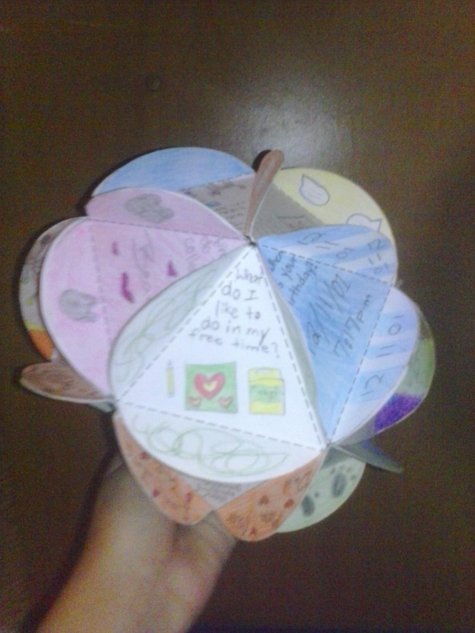 """*""""Me"""" Paper Sphere!!!*"""