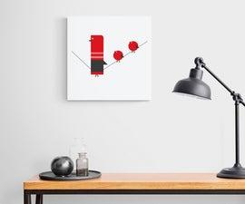 Bird Minimalism Wall Art