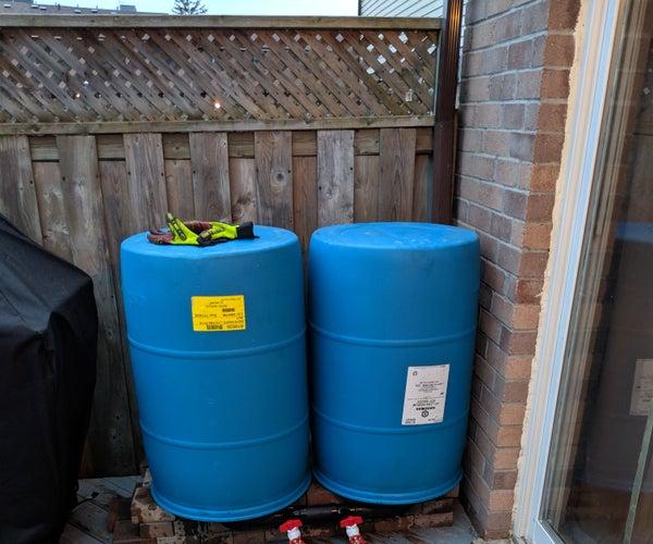 Rain Barrel for Garden Watering