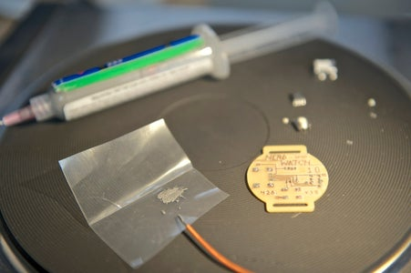 Solder on the Electronics