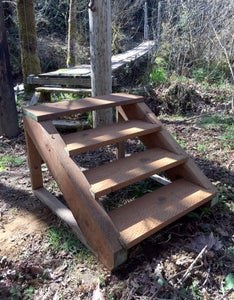 How to Build Free-Standing Stairs