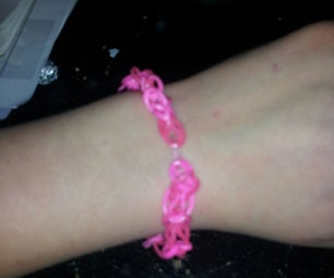 How to Make a Simple Bracelet and Weave a Charm Into the Simple Bracelet