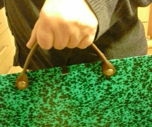 How to Make a Leather Handle for a Cardboard Art Portfolio..