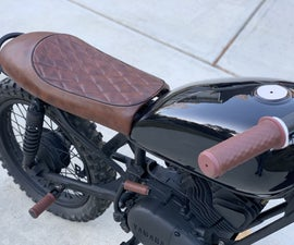 EASY LEATHER GRIPS FOR MOTORCYCLE