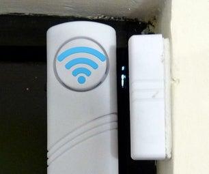 $4 WiFi Door Alarm Using a ESP8266 #IoT