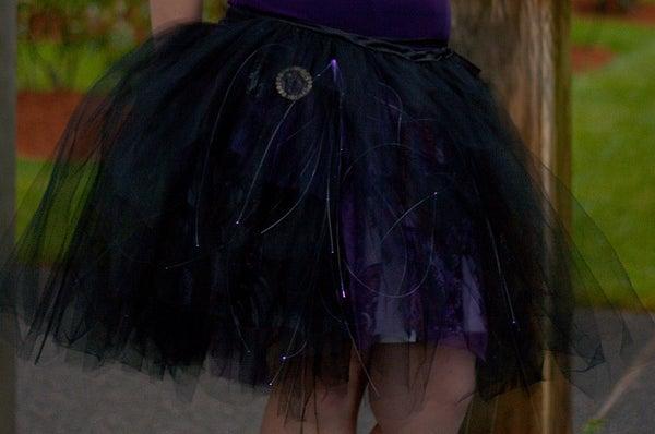 Skirt Full of Stars - Motion Reactive Skirt With Fiber Optics