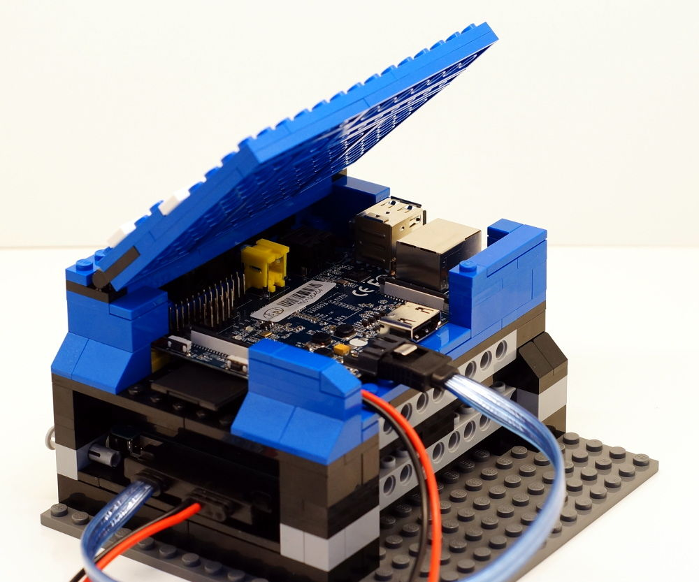 How to build a NAS with BananaPi and LEGO Part 1