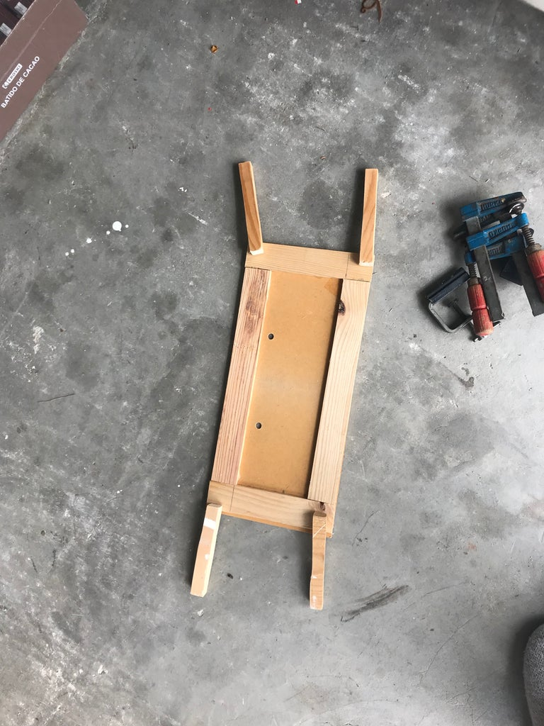Choose Some Wood to Make the Support Legs