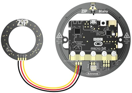 Connecting the Micro:bit to the ZIP Halo & Circle