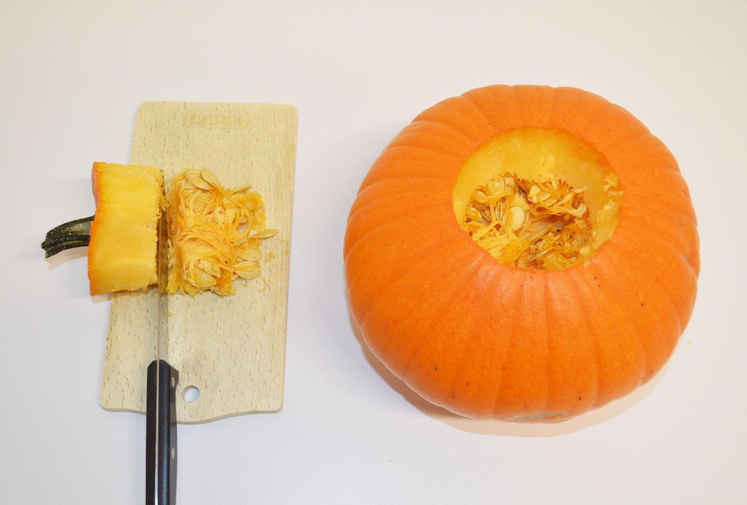 Clean Out the Pumpkin