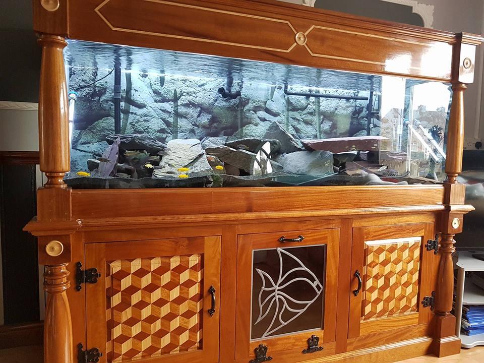 D.I.Y Hardwood Aquarium Stand/Surround